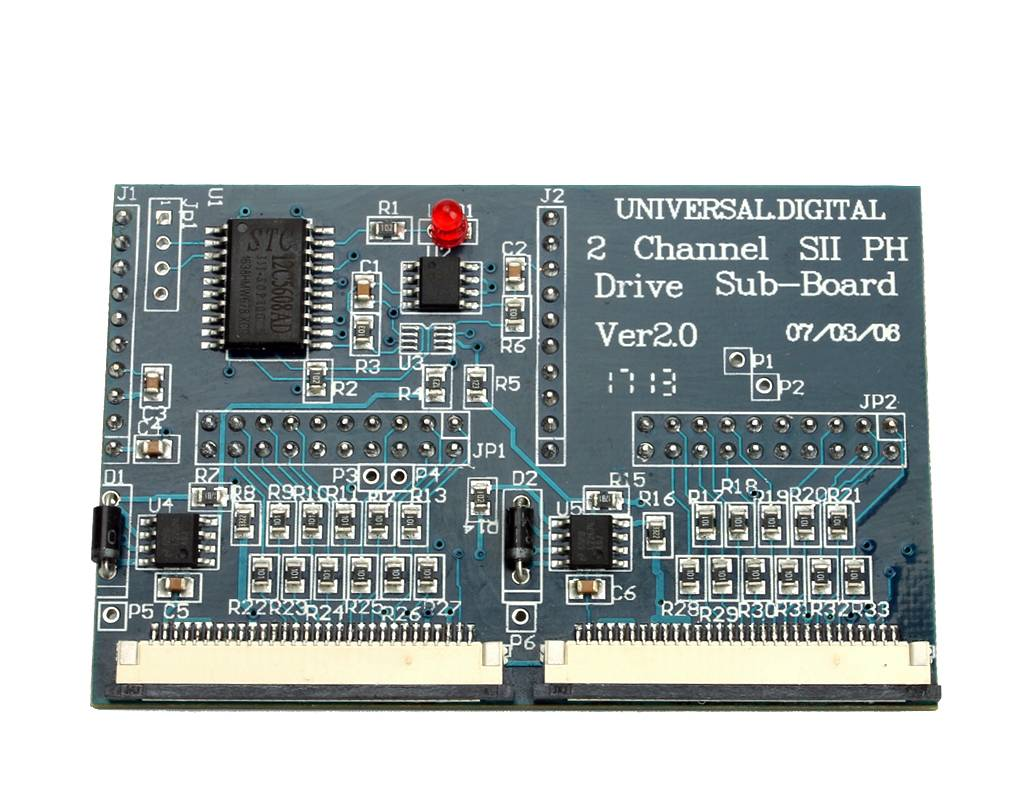 universal 2 channel SII PH drive sub-board ver 2.0 for spt 510 print head